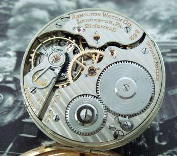 Men's 1934 Hamilton Railroad Pocket Watch