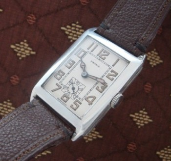 Men's 1918 Sterling Silver Patria Wrist Watch