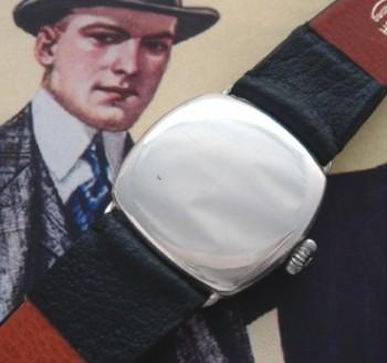 Men's 1925 Omega Sterling Silver Dress Watch