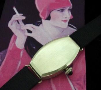Ladies' 1915 Z. Perrenaud & Co. 14k Cocktail Watch