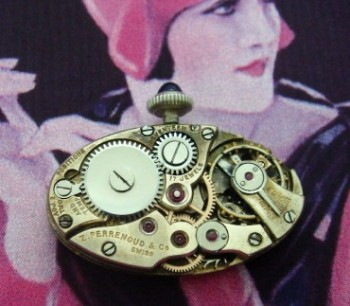 Ladies' 1915 Z. Perrenaud & Co. 14k Cocktail Watch