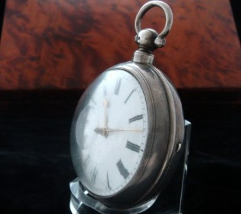 Men's 1830 R. Roberts Fusee Pocket Watch w/Chain