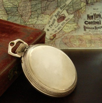 Men's 1928 Ball Watch Company RR Pocket Watch in Box w/Papers