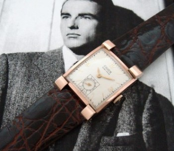 Men's 1940 Gruen Veri Thin Watch in 14k Rose Gold