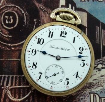 Men's 1905 Hamilton 960 Railroad Pocket Watch