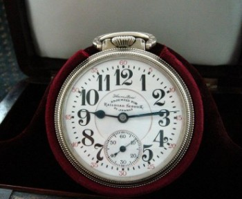 Men's 1922 Hamiton 992 Railroad Pocket Watch w/Box