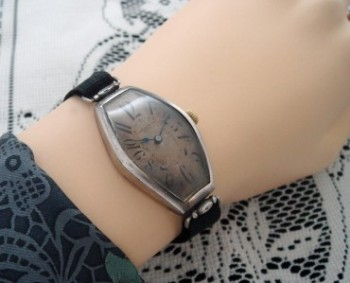 Ladies 1915 Tissot Watch in Solid Sterling Silver