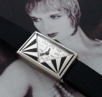 Ladies' 1930 Elgin Rare Triangle Dial Watch
