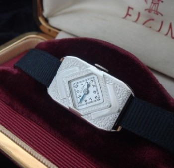 Ladies' 1930 Elgin Arts & Crafts Wrist Watch