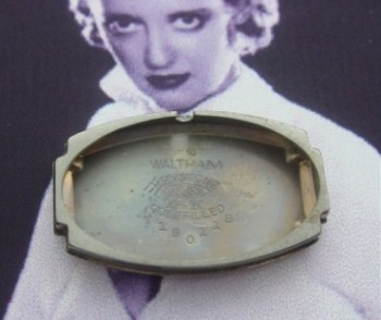 Ladies' 1920 Waltham Wrist Watch in Box