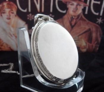 Men's 1928 Elgin Gentlemen's Pocket Watch w/Chain