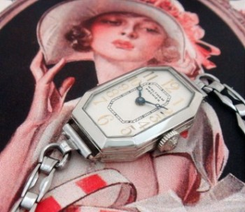 Ladies' 1930 Waltham Wire Lug Watch w/ Bracelet