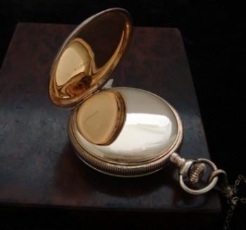 Ladies' 1905 American Waltham Pocket Watch w/ Chain