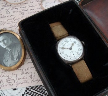 Men's 1918 Patria Sterling Trench Watch – All Original