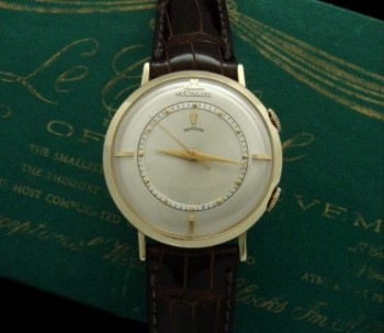 Men's 1950 LeCoultre Memovox 14k Alarm Watch