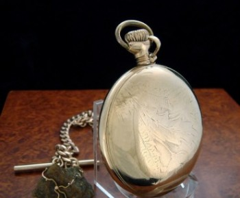 Men's 1917 Hamilton 940 21 Jewel Railroad Pocket Watch