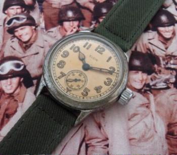 Men's 1945 Elgin Military Ordnance Watch