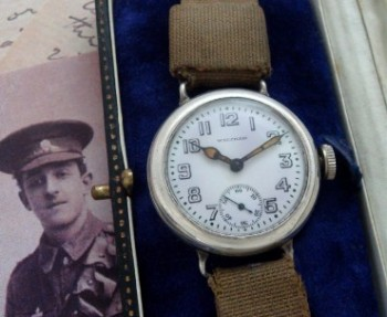 Men's 1914 Waltham Military Watch with Box