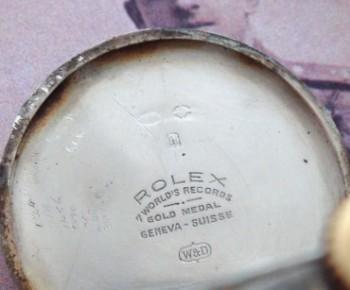 Men's 1923 Rolex Postwar Trench Watch in Sterling Silver