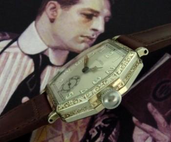 Men's 1927 Illinois Dress Watch w/Engraving