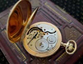 Men's 1913 Hamilton 993 Railroad Pocket Watch