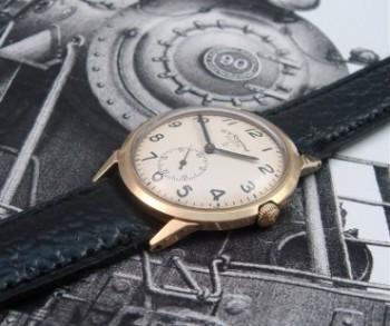 Men's 1961 Elgin B.W. Raymond Railroad Watch with box