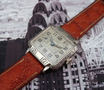 Men's 1929 Illinois New Yorker Dress Watch