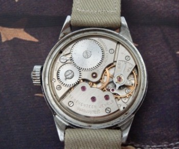 Men's 1940 Movado Military Watch in Stainless