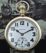 Men's 1934 Hamilton Railroad Pocket Watch