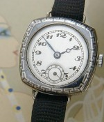 Ladies' 1920 Sterling Silver Swiss Wire Lug Wrist Watch