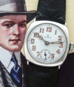 Men's 1925 Omega Sterling Silver Dress Watch