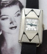 Ladies' 1930 Elgin Jazz Age Wrist Watch