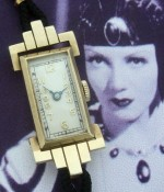 Ladies' 1920 Misc. Swiss Solid Gold Wrist Watch