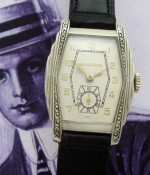 Men's 1938 Bulova Wristwatch with Enameling