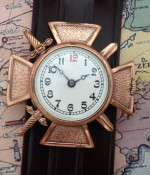 Men's 1918 Bronze Croix de Guerre Wrist Watch