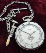 Men's 1927 Ball Watch Co. Pocket Watch w/Enamel