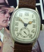 Men's 1929 Elgin Rare Oval/Enamel Dress Watch