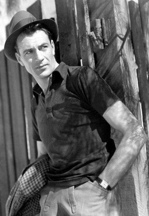 Happy Birthday Gary Cooper Strickland Vintage Watches