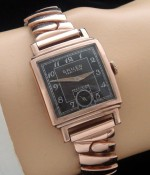Men's 1935 Gruen Rose Gold Filled Dress Wristwatch