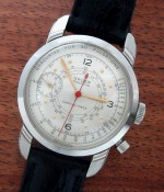 Men's 1954 Gruen One Button Doctor's Chronograph