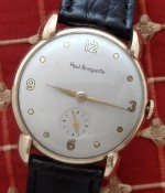 Men's 1944 Paul Breguette Solid Gold Watch