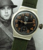 Men's 1919 Elgin Trench Watch in Coin Silver Case