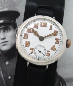 Men's 1923 Rolex Trench Watch in Sterling Silver