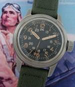 Men's 1950 Elgin A-17A Aviator's Wristwatch