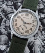 Men's 1941 Hamilton Military Ordnance Wristwatch