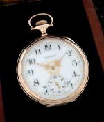 Men's 1904 Waltham 23 Jewel Riverside Maximus Pocket Watch