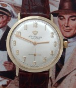 Men's 1955 Jules Jurgensen 14k Gold Dress Watch