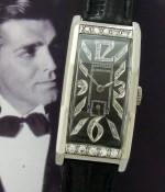 Men's 1945 Longines Watch in Platinum w/Diamonds