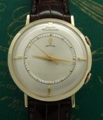 Men's 1950 LeCoultre Memovox Alarm Watch in Solid Gold