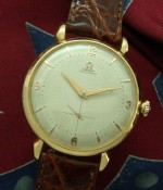 Men's 1950 Oversized Omega Bumper Automatic